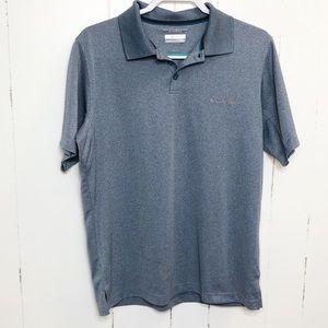 Columbia Blue/Gray Omni Shade Polo Shirt